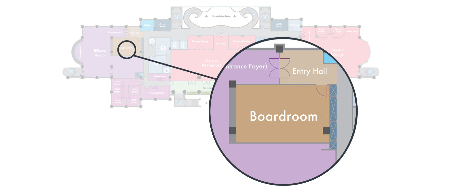 Boardroom Floor Plan