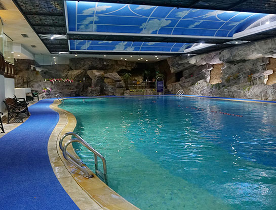 Singapore's Only Heated Subterranean Pool
