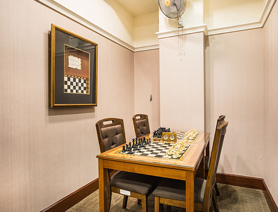 Chess Room Rental
